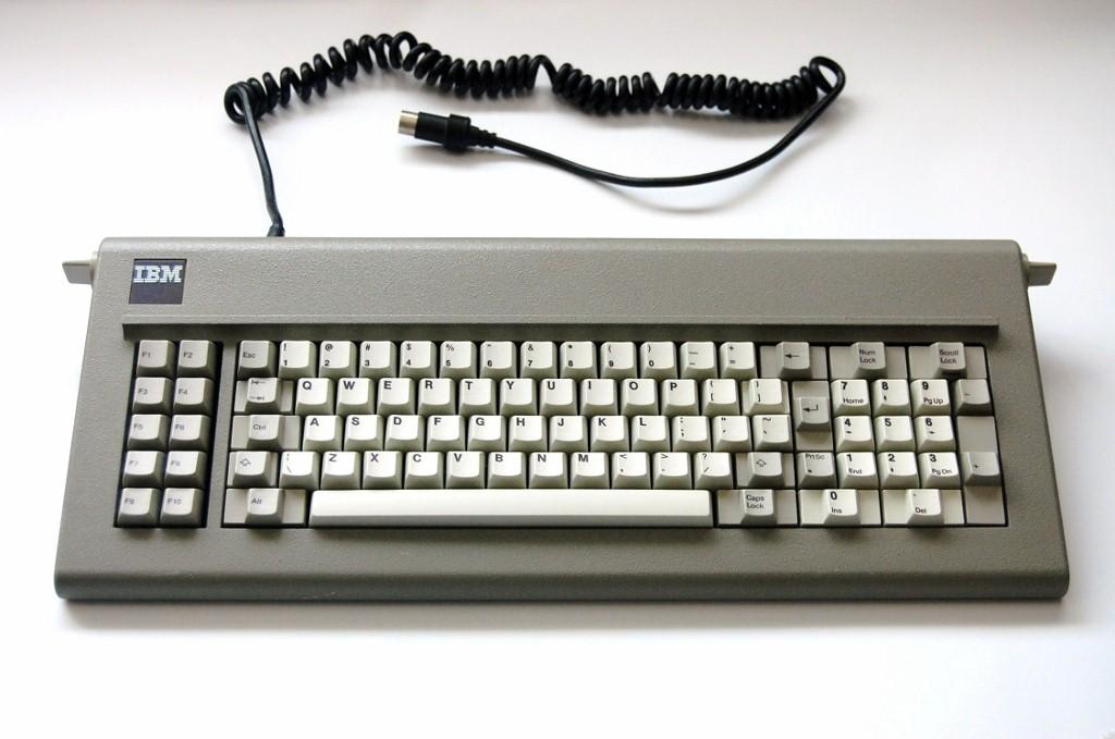 1985 Ibm Model F Keyboard Ibm Industrial 83 Key Xt